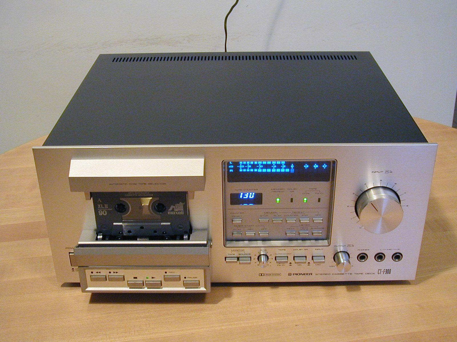 Pioneer CT-F1250 Cassette Tape Deck Belt Kit