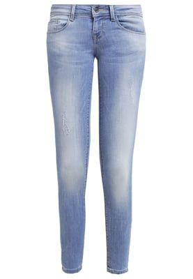 ONLY ONLCORAL - Jeans Skinny Fit - medium blue denim - Zalando.no