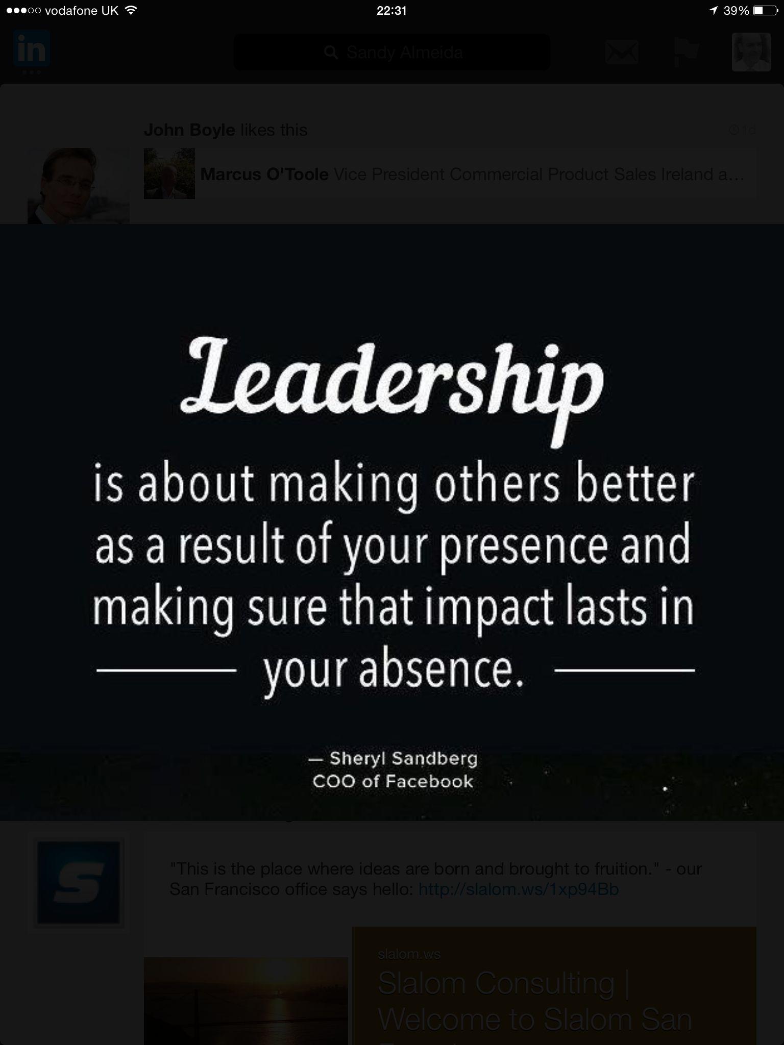 Leadership moto   Leadership inspiration, Leadership quotes, Work ...