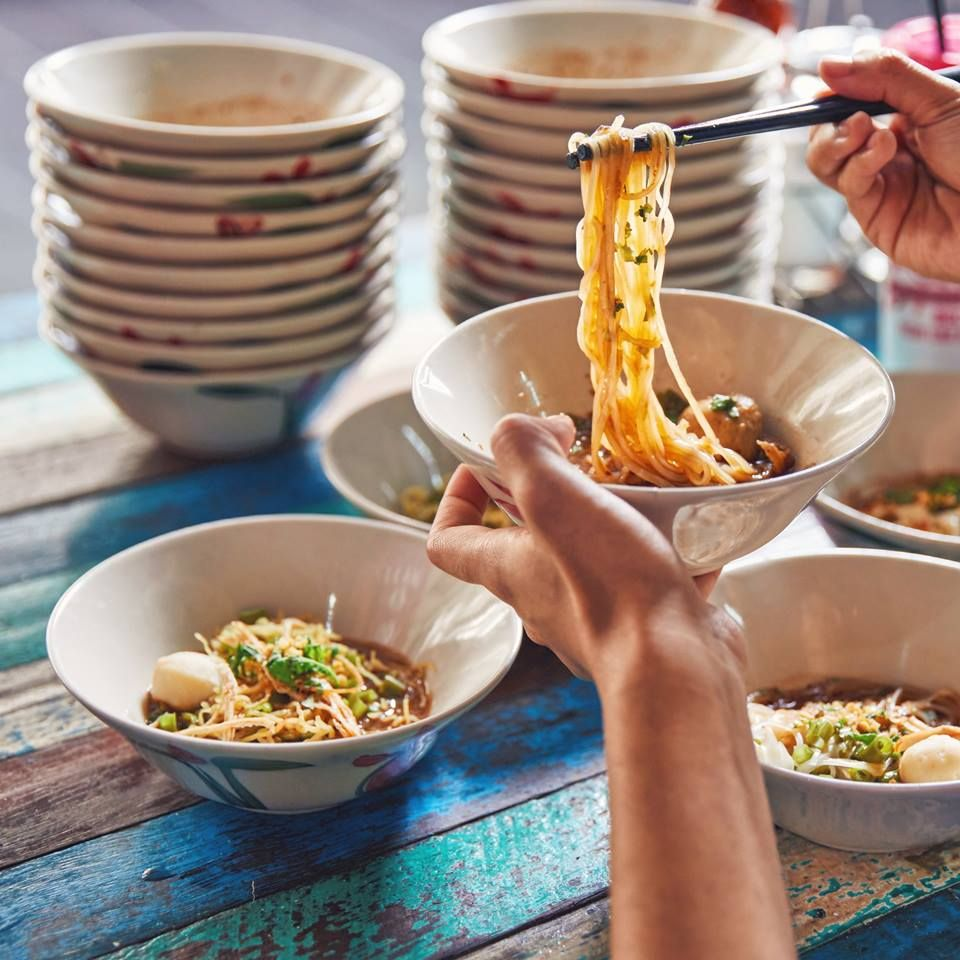 Changi City Point The Original Boat Noodle Sg Boat Noodle Healthy Food Photography Photographing Food