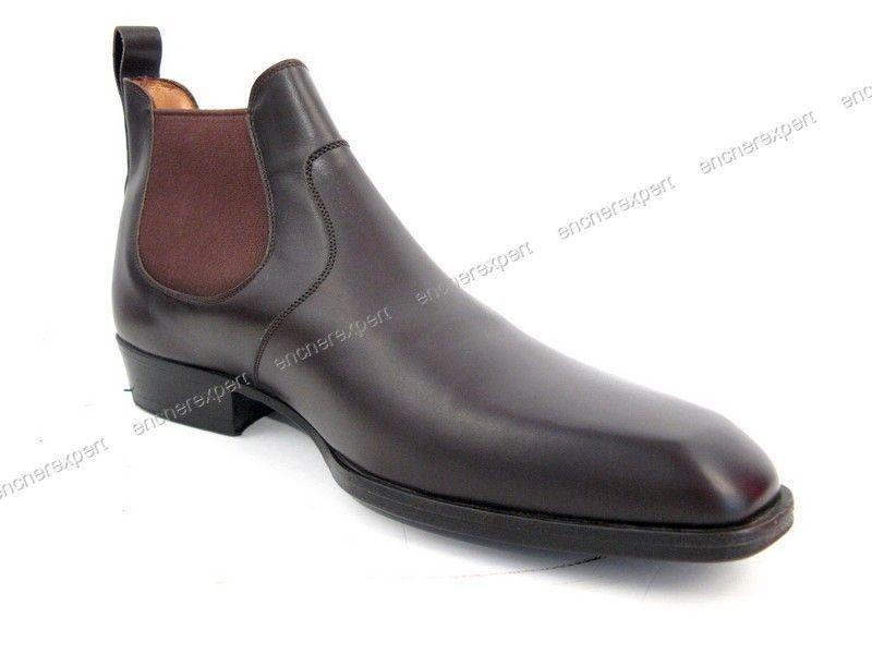 04a5446d1df2 JM Weston France | Neuf chaussures jm weston 457 informel bottines ...