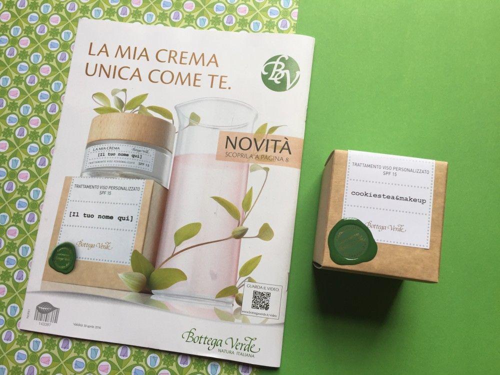 Crema Personalizzata Bottega Verde  | Cookies, tea & makeup