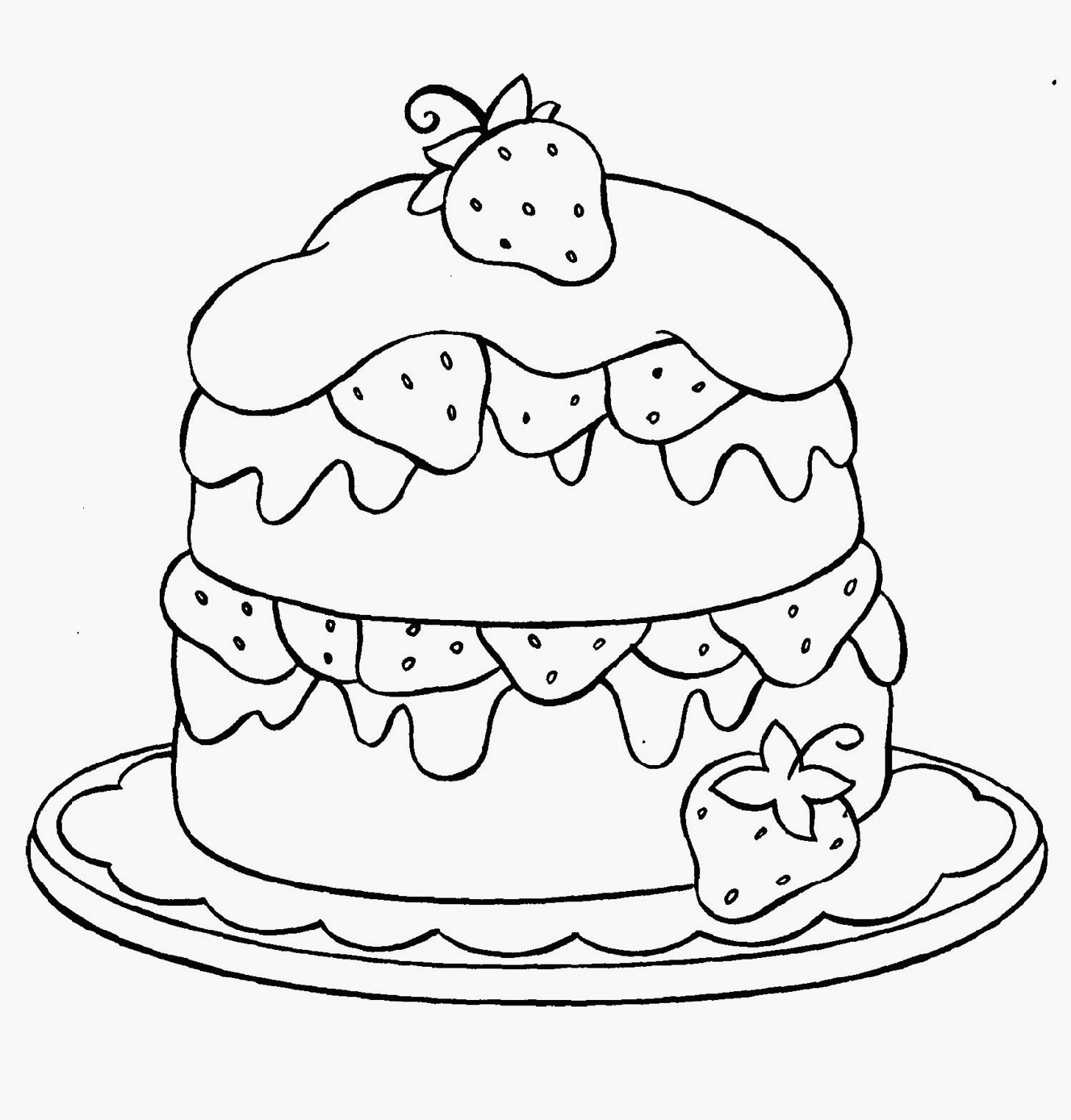 Cupcake Free Coloring Pages For Kids Happy Birthday Cupcake ...