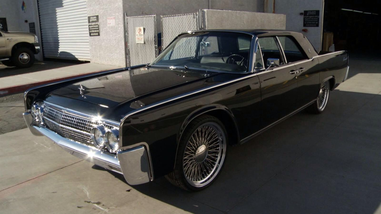 Counts Kustoms 1963 Lincoln Continental. My Dream Car
