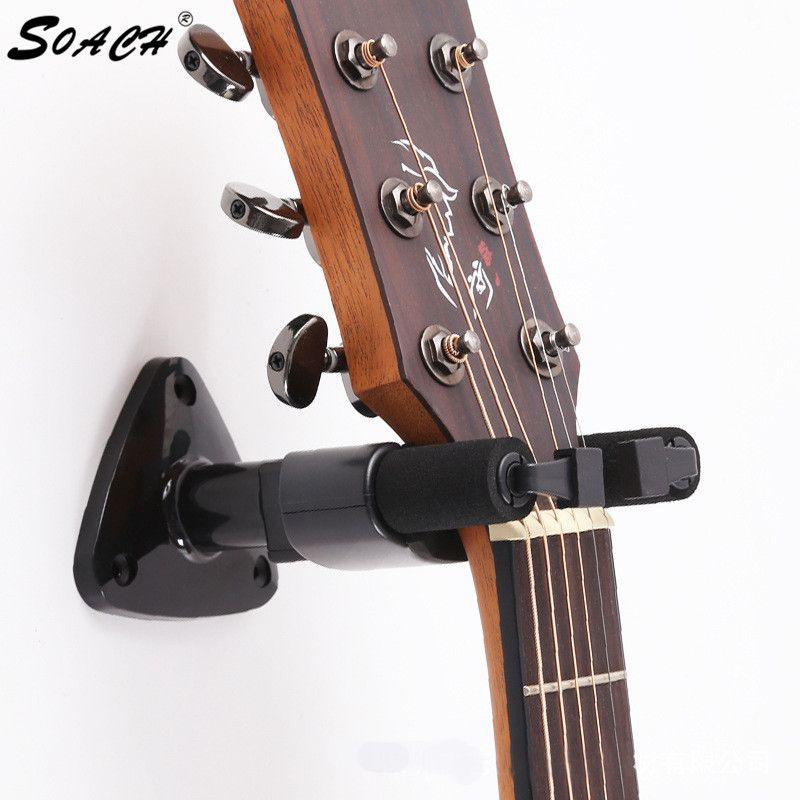 Gitarre Kleiderbügel Haken Halter Wandhalterung Stand Rack für Gitarre