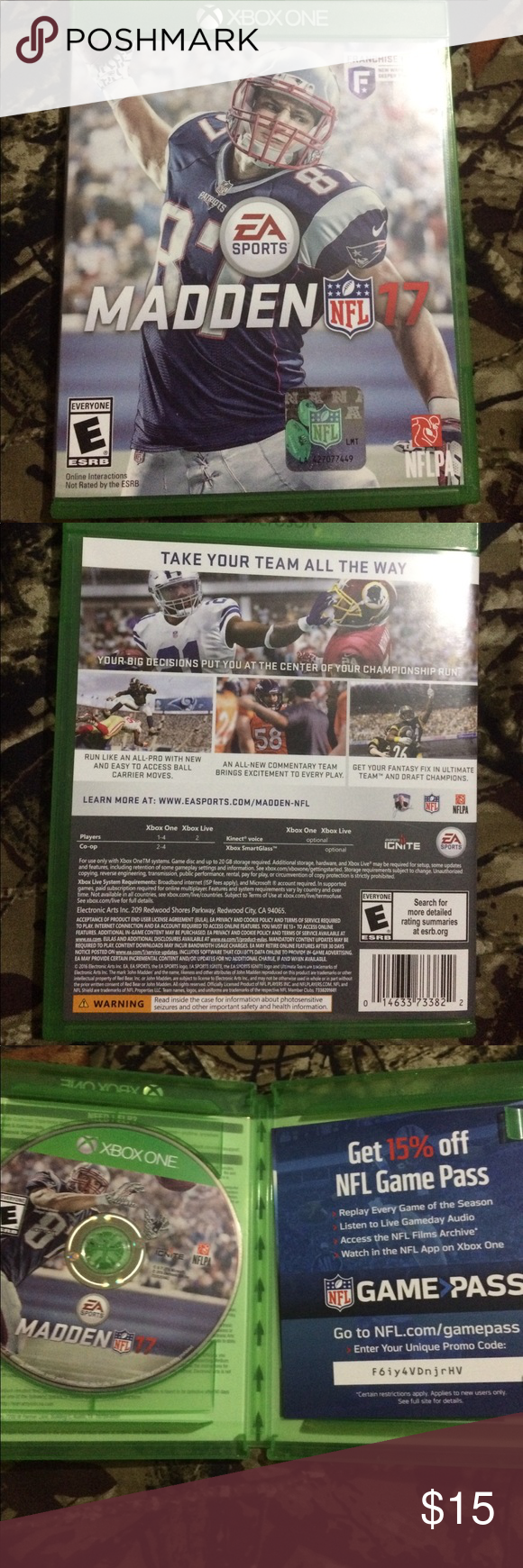 Madden 17 for Xbox One Game Pass code is still Valid! Works
