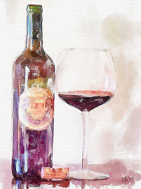 Cabernet Con Imagenes Arte De Acuarela Pinturas Pinturas De