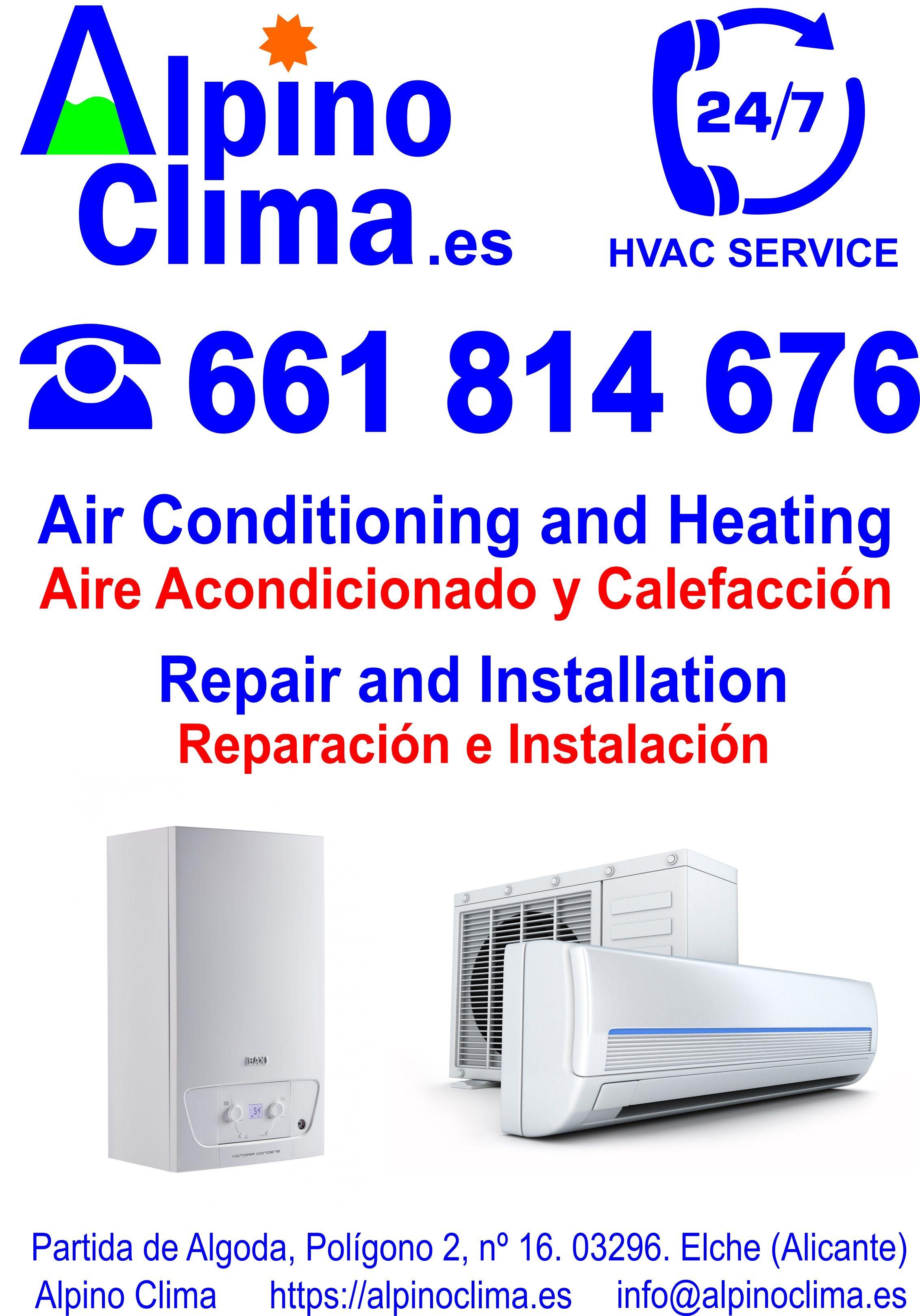 Instalación y reparación de aire acondicionado y