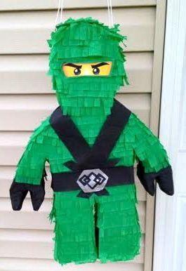 Lego Ninjago Custom Pinata Pinjate Pinterest Verjaardag