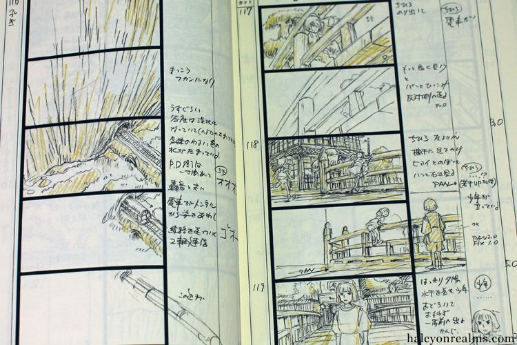 The Art Of Spirited Away - Storyboard Book comic strip - anime storyboard