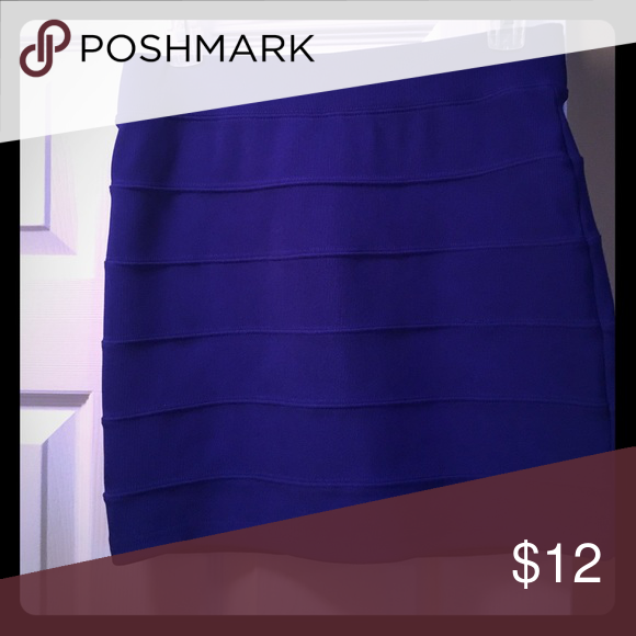 Forever 21 Royal Blue Bandage Skirt! Royal Blue Forever 21 Bandage Skirt. Color is gorgeous! Forever 21 Skirts Mini