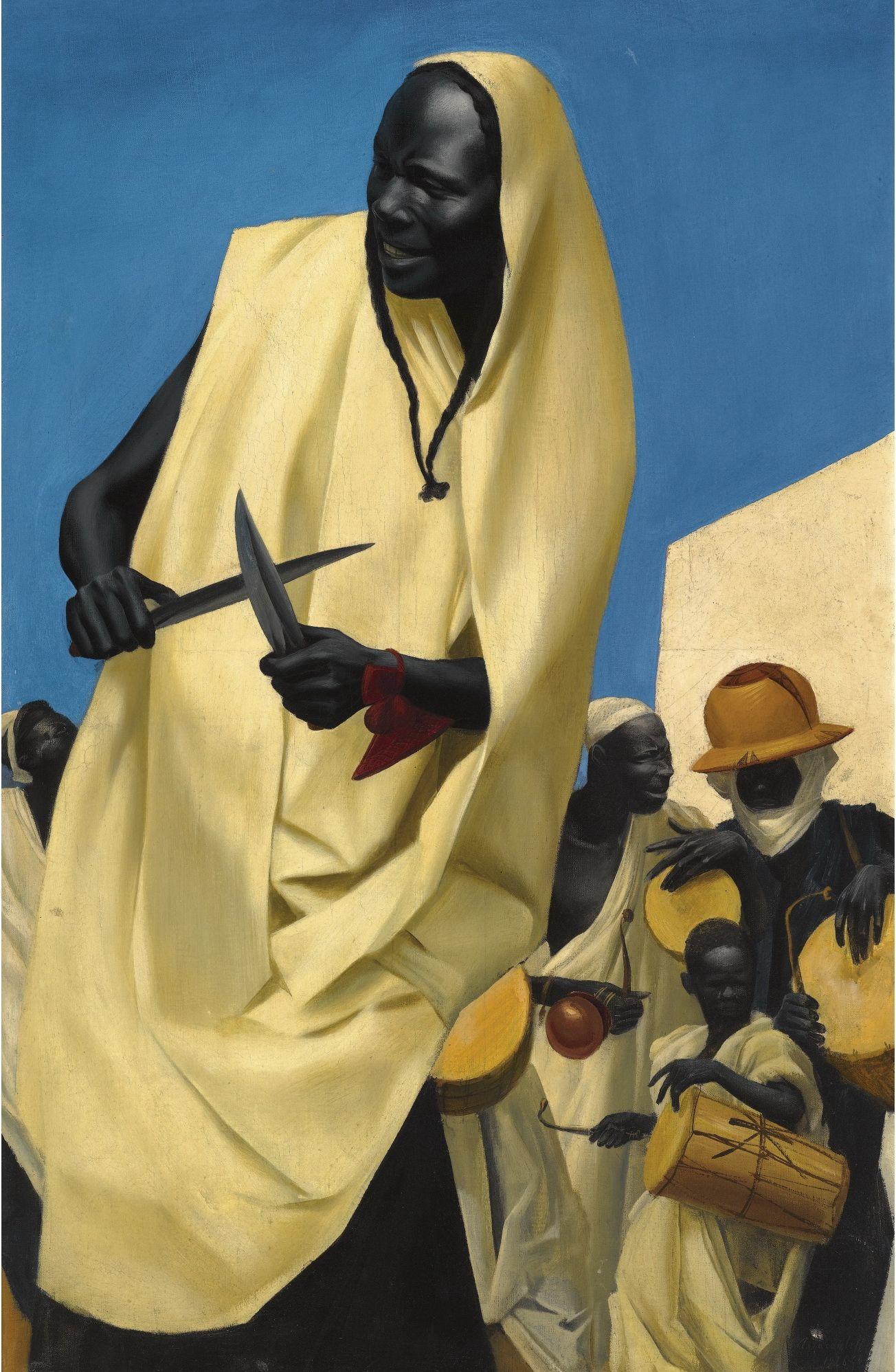 The Kuli-Kuta Dance, Niamey, 1926 Alexandre Yevgenievich Jacovleff