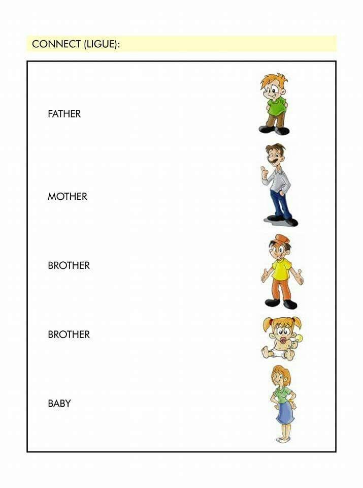 Family Com Imagens Atividades De Ingles Atividades Em Ingles
