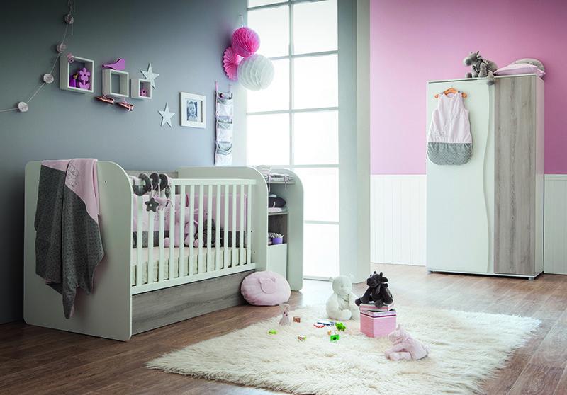 Lit Chambre Transformable Mina De Sauthon Passion Avec Le Theme Poudre D Etoile Rose De Noukiesofficial Chambre Bebe Idee Chambre Lit Transformable