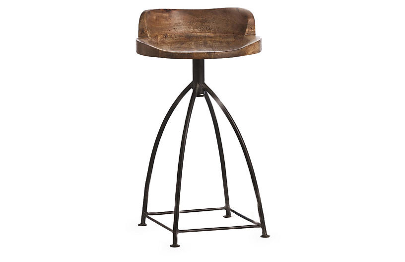 Henson Counter Stool Brown Rustic Counter Stools Counter