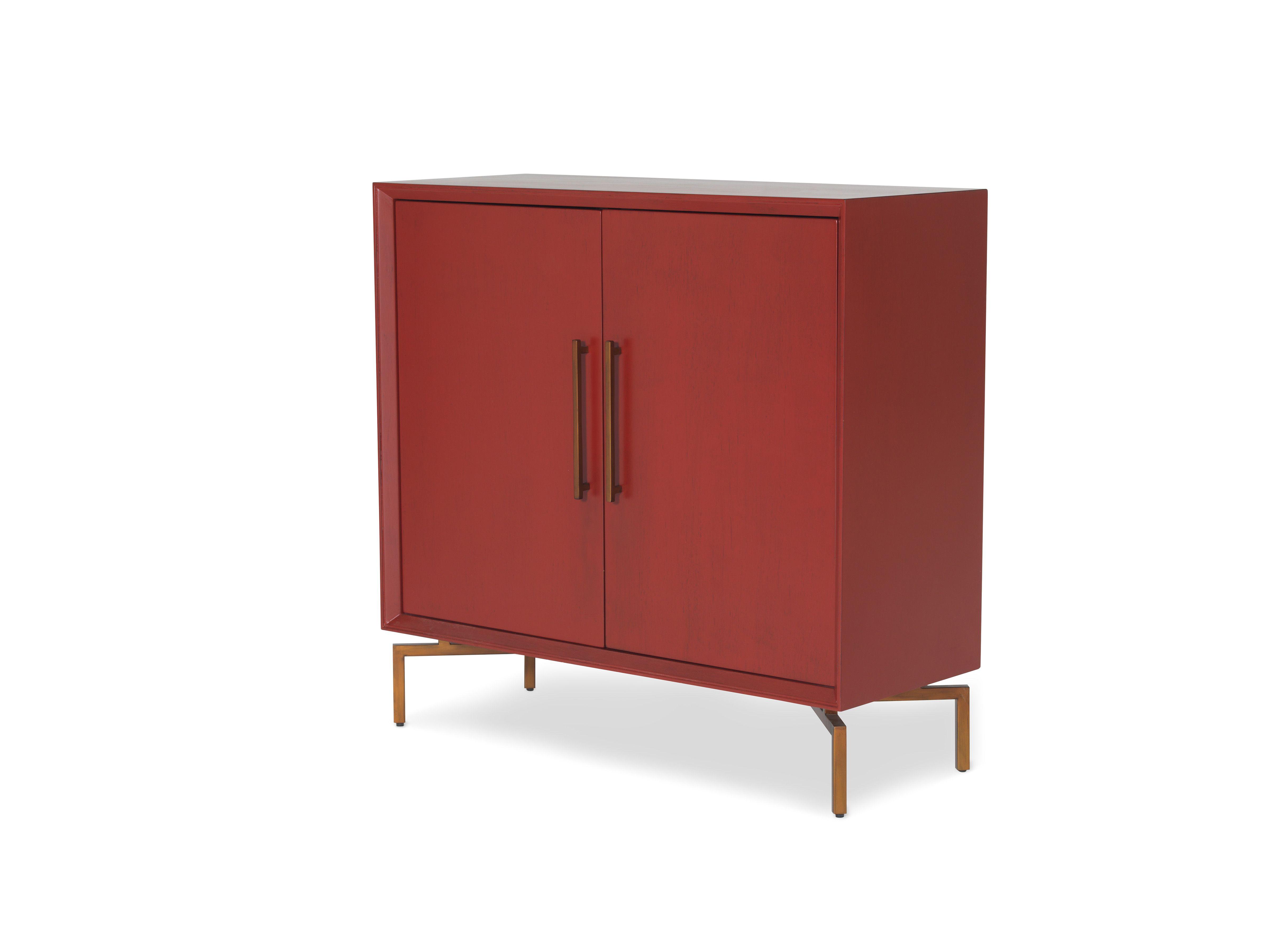 Mitchell Gold Bob Williams Montréal Cabinet Ming rouge