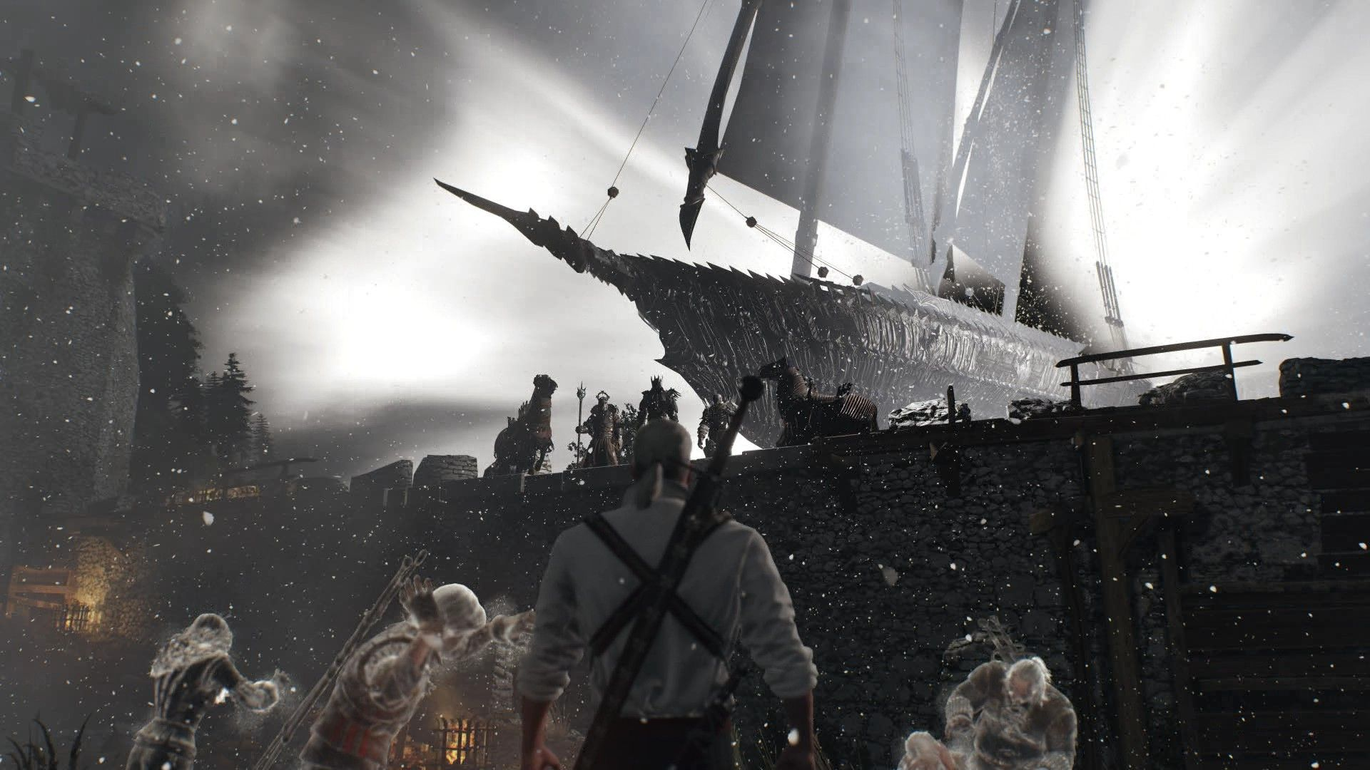 The Witcher's Nightmare TheWitcher3 PS4 WILDHUNT