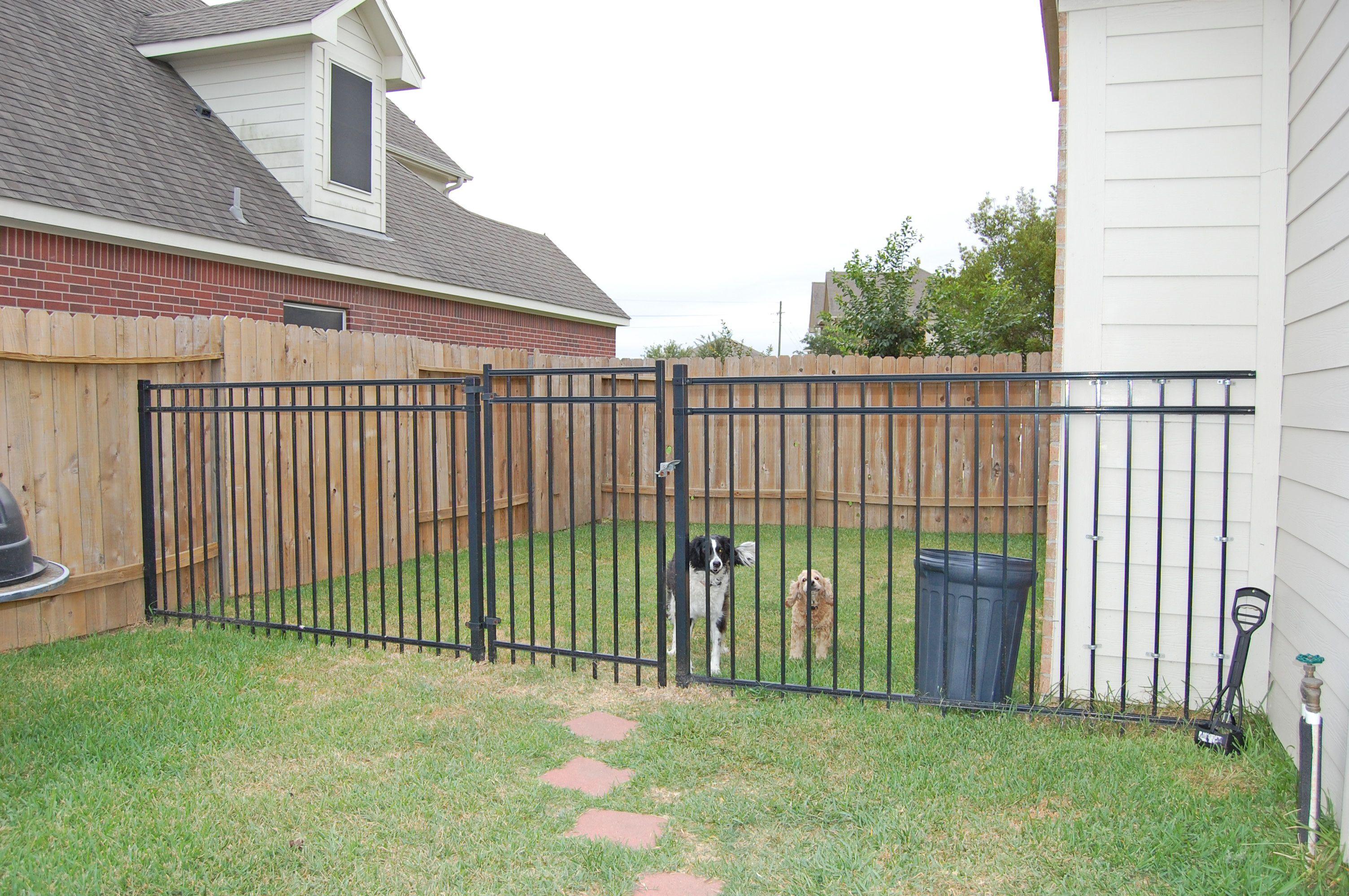 dog run in side yard | backyard bliss: dog runs | Pinterest
