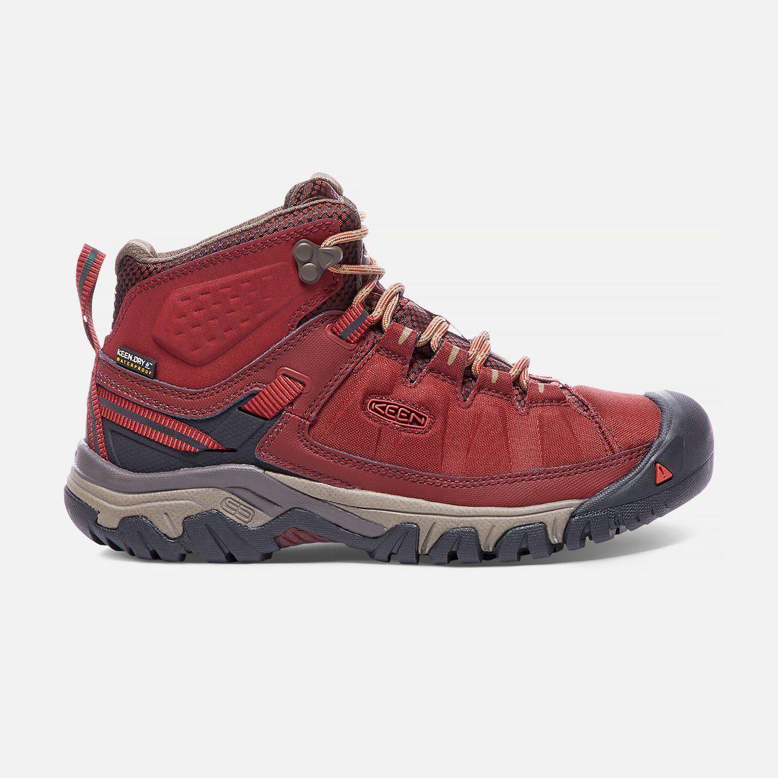 78e975295f4 Keen Footwear Women s Targhee Waterproof Mid Hiking Boot - Ethical Hiking  Boots