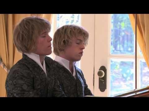 Arthur Jussen Amp Lucas Jussen Ravel Les Entretiens De La Belle Et De La Bête From Ma Mère L 39 Oye Youtube Muzikanten Componisten Broertjes