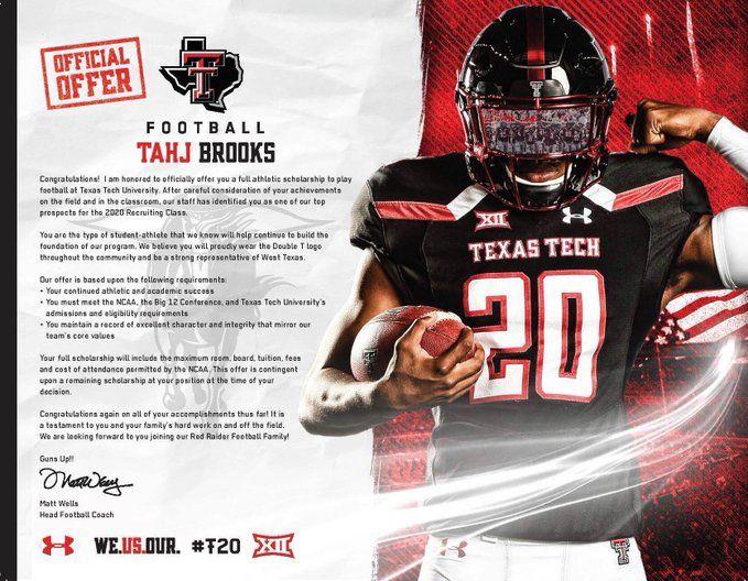 Texas Tech College Football Teams Sports Design Texas Tech