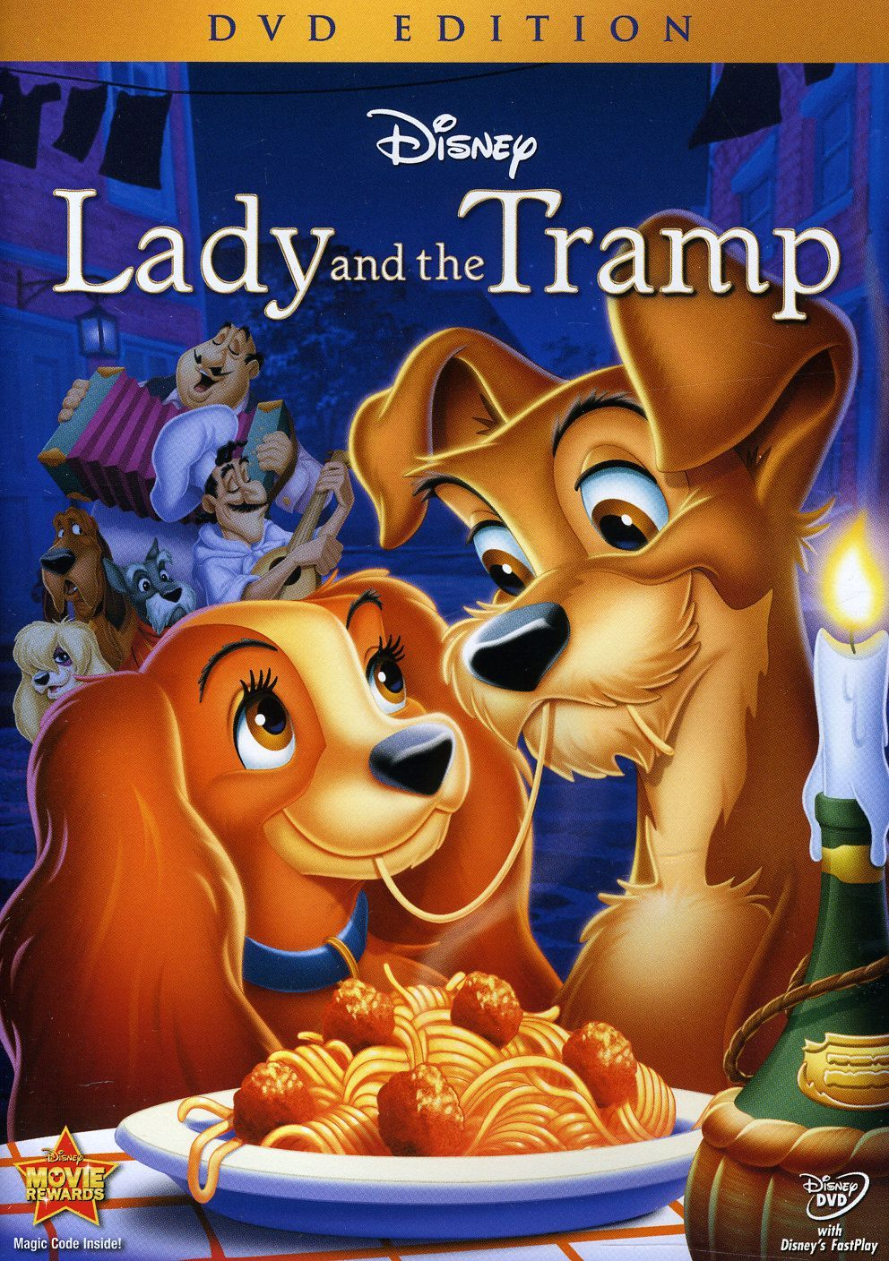 Lady and the tramp disney animated movies best disney