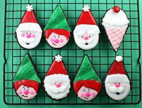 Ideas para hacer tus galletas de Navidad decoradas | TARTAS Y DULCES ...