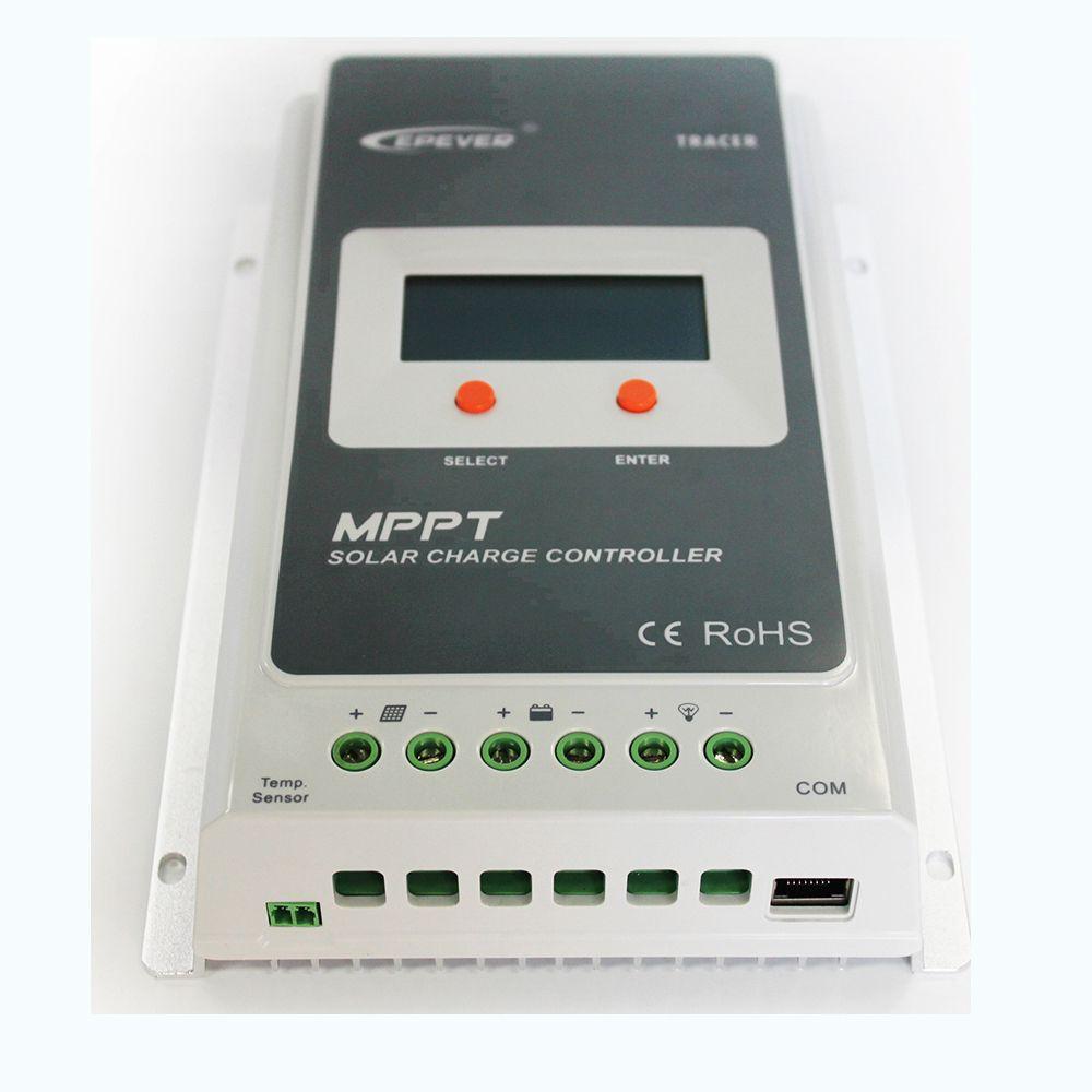 Nouveau EPsolar Tracer-un 10 A Solar PV MPPT Charge Contrôleur Régulateur LCD 12V//24V