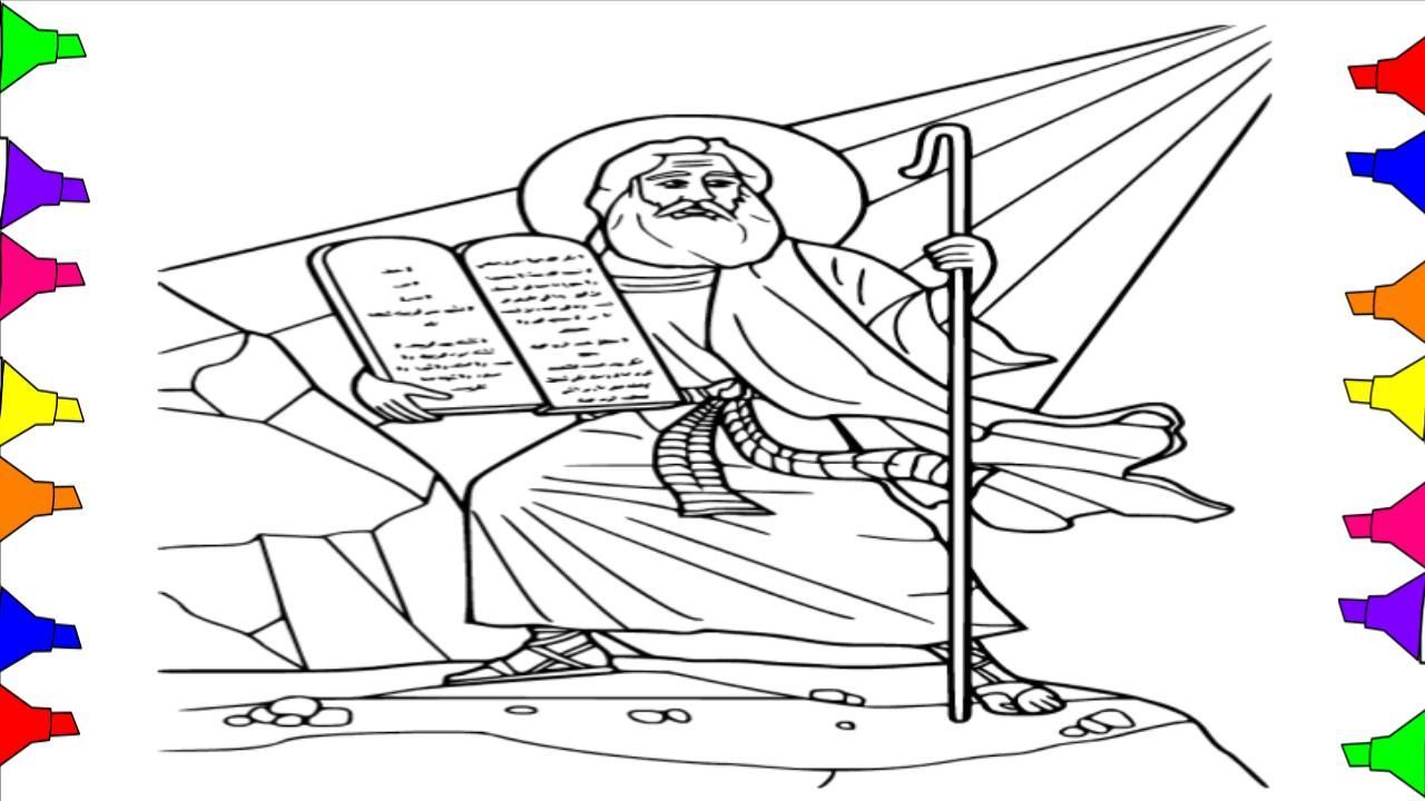 How to draw bible stories coloring book for kids , toddlers ...