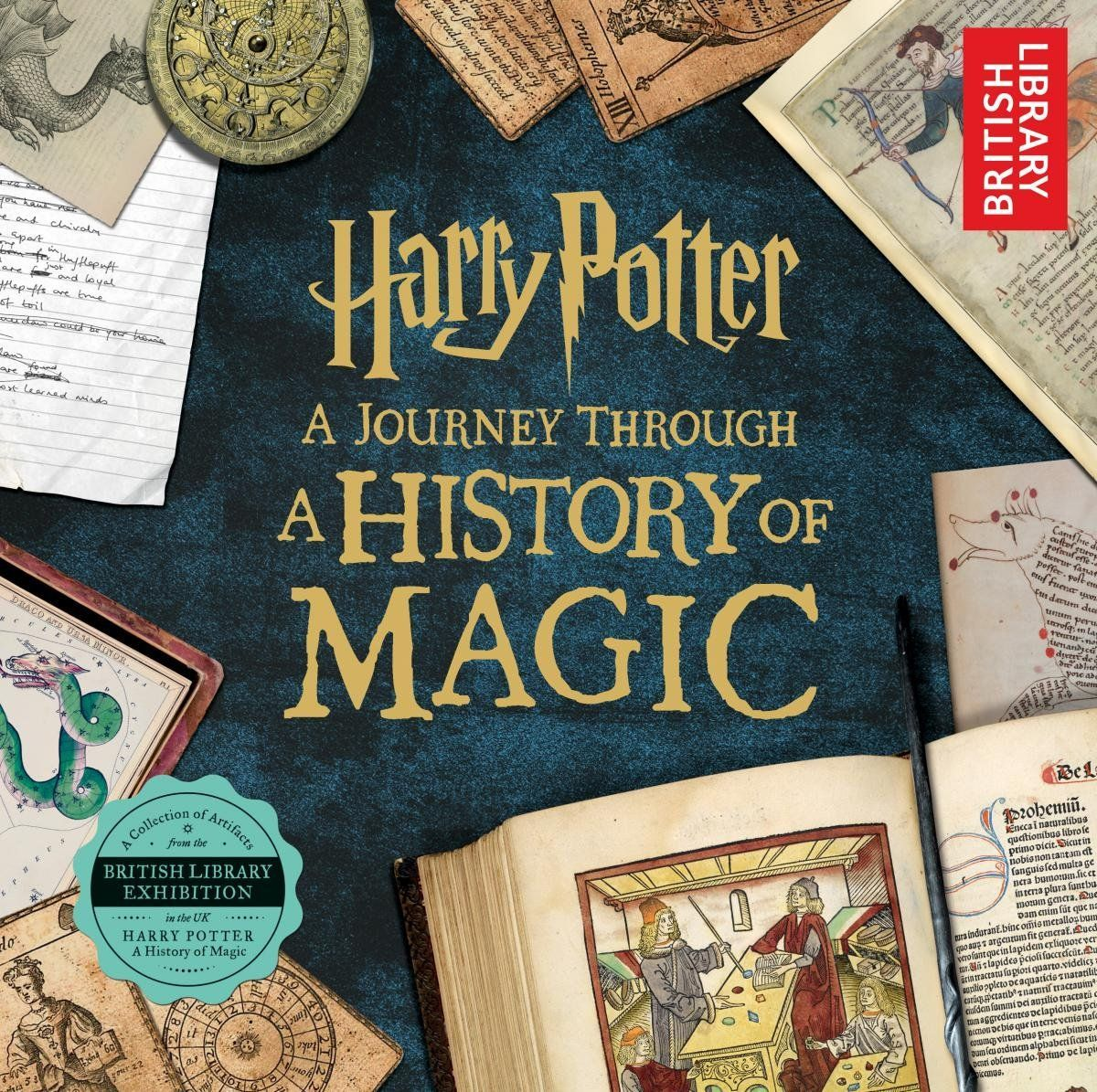 10 Harry Potter Spin Off Books Every Potterhead Needs A History Of Magic Harry Potter Wallpaper British Library