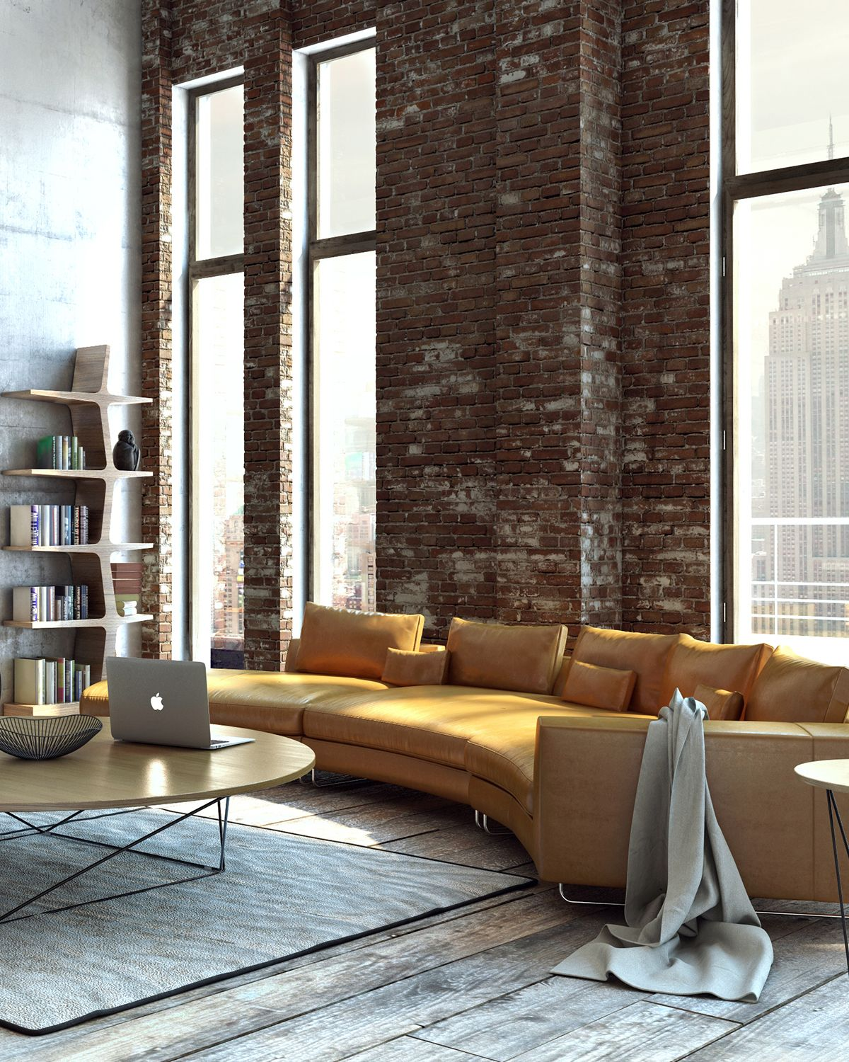 Style your urban loft with this gorgeous la furniture sectional and