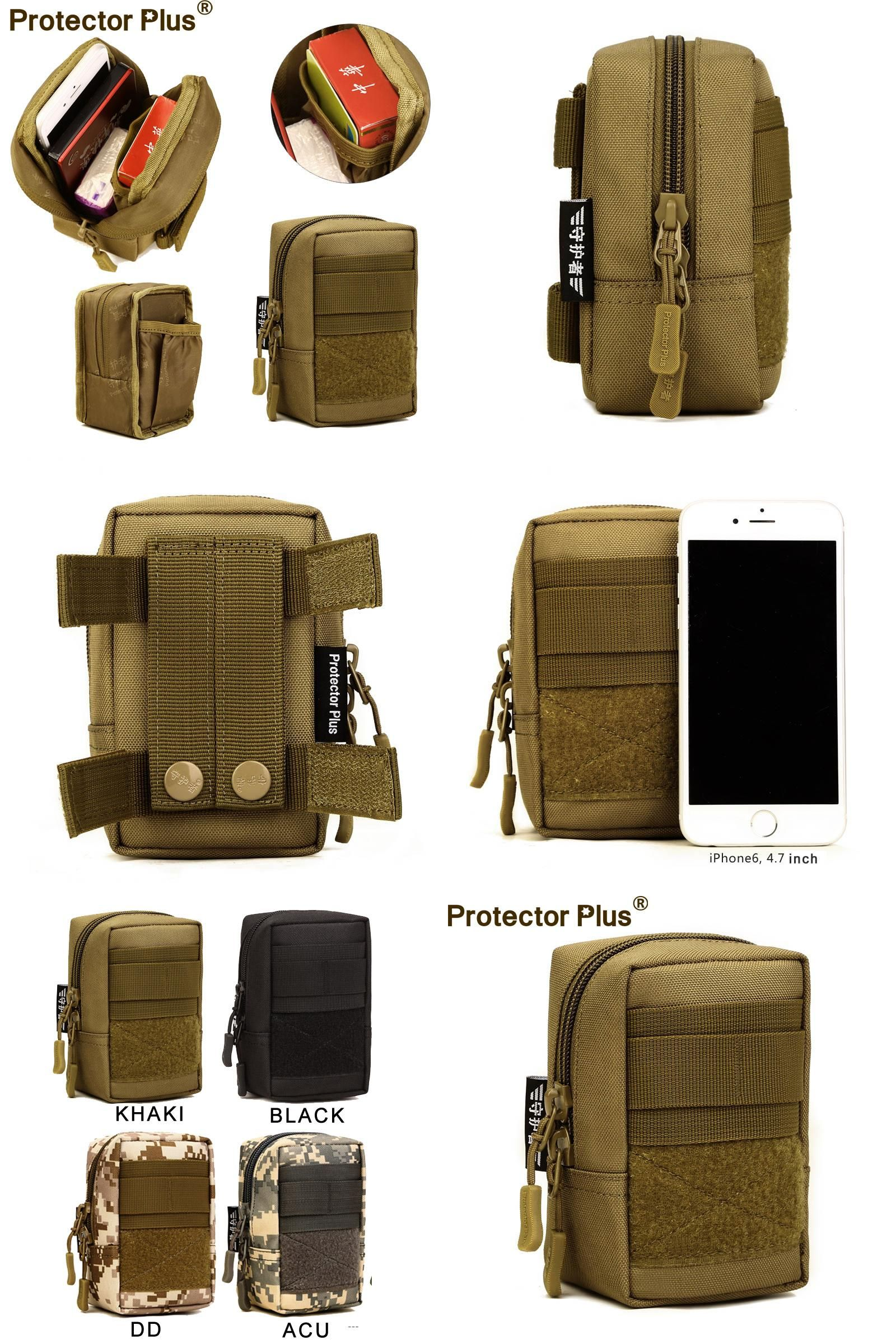 Visit to Buy] Nylon Tactical Molle Pouch Bag Belt EDC Waist Pack ...
