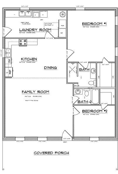 open concept barndominium floor plans