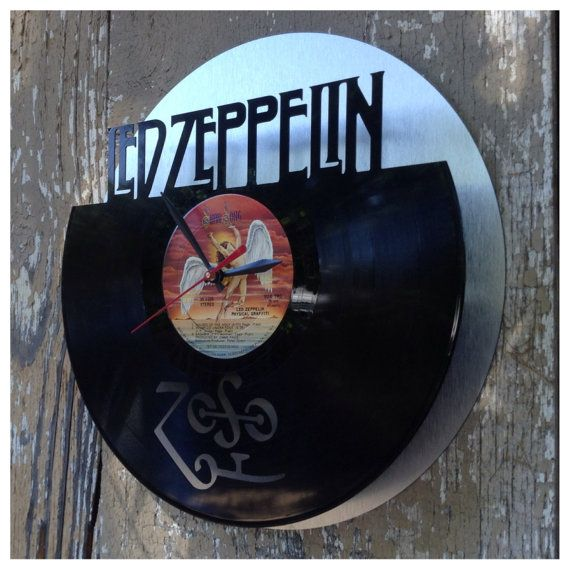 Re Purposed Recycled Vinyl Record Led Zeppelin Vinyl