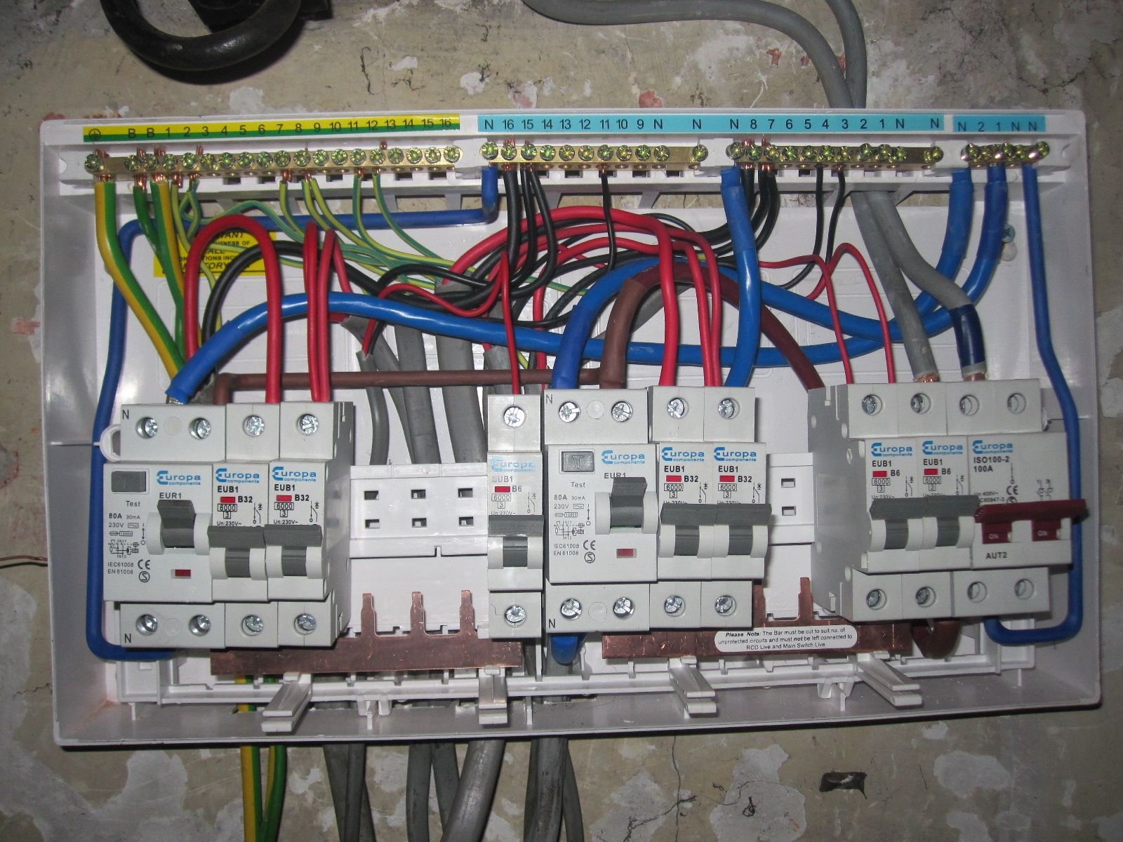 rcbo consumer unit wiring diagram rocker switch pin by myhiredpro on home electrical pinterest