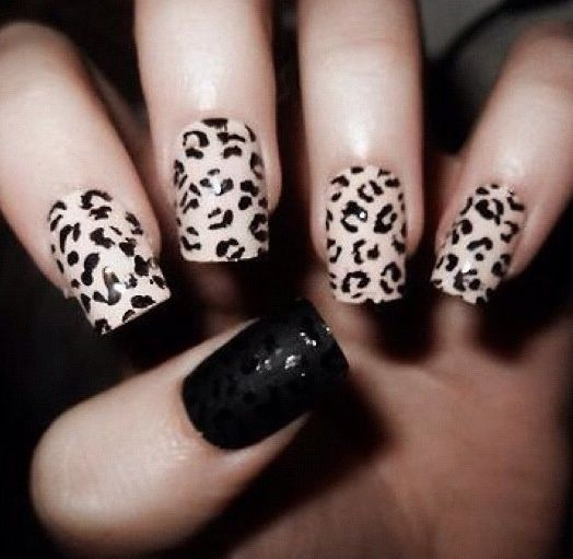 Cheetah Nail Designs Tumblr | Easy Nail Art Designs - Cheetah Nail Designs Tumblr Easy Nail Art Designs Animal Print
