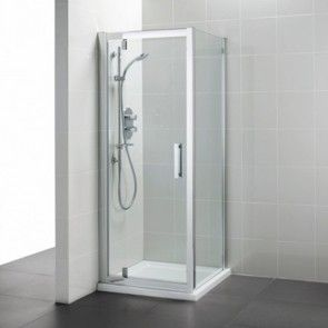 Ideal Standard Synergy Pivot Corner Shower Door 1000mm L6204eo Corner Shower Enclosures Corner Shower Doors
