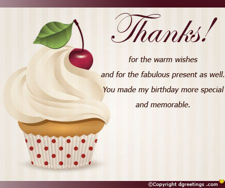 Birthday Thank You Cards Happy Birthday Pinterest Birthday