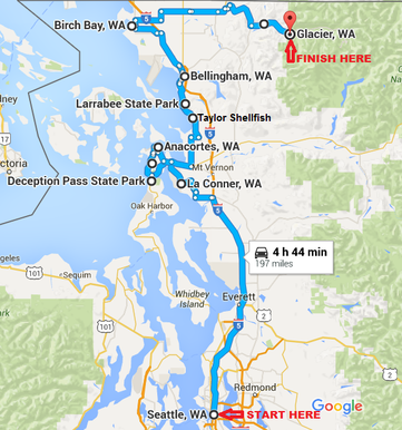 Washington State Road Trip Itinerary Travel The World Road Trip