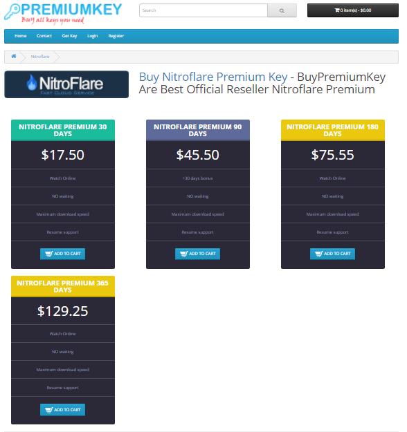Nitroflare Paypal