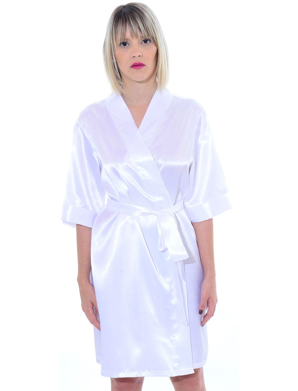 248d1d717 Robe feminino curto em Cetim - AG15    RMD Lingerie Casamento Vestido De  Renda