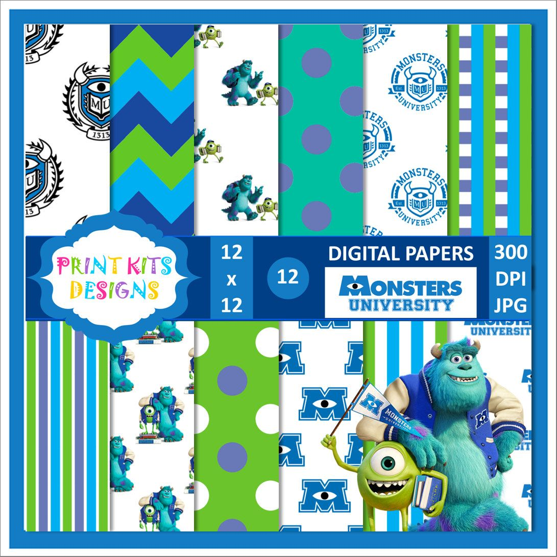 monsters university party invitations free - Google Search ...