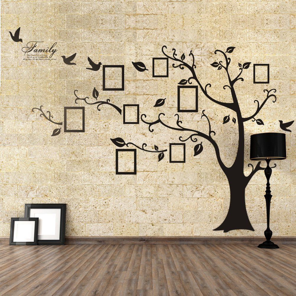Family Tree Photo Wall funny family tree wall decals to add beauty of your room
