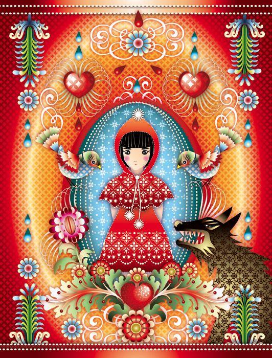 """forestfairytales: """" Ilustração pela artista colombiana Catalina Estrada Vale a pena conhecer seus ricos e coloridos trabalhos! """""""