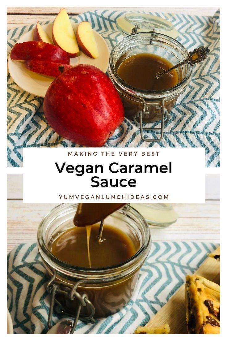 Easy vegan caramel sauce recipe dairy free caramel sauce
