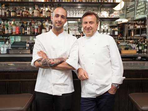 DBGB #Kitchen And #Baru0027s Lauded French Chef Daniel Boulud (right) With  Executive Part 37