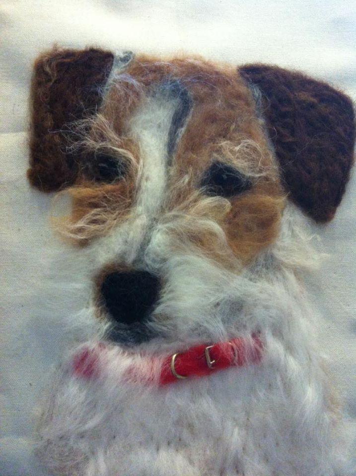 Matilda..... Jack Russell Terrier X | crafts | Pinterest | Filzen ...
