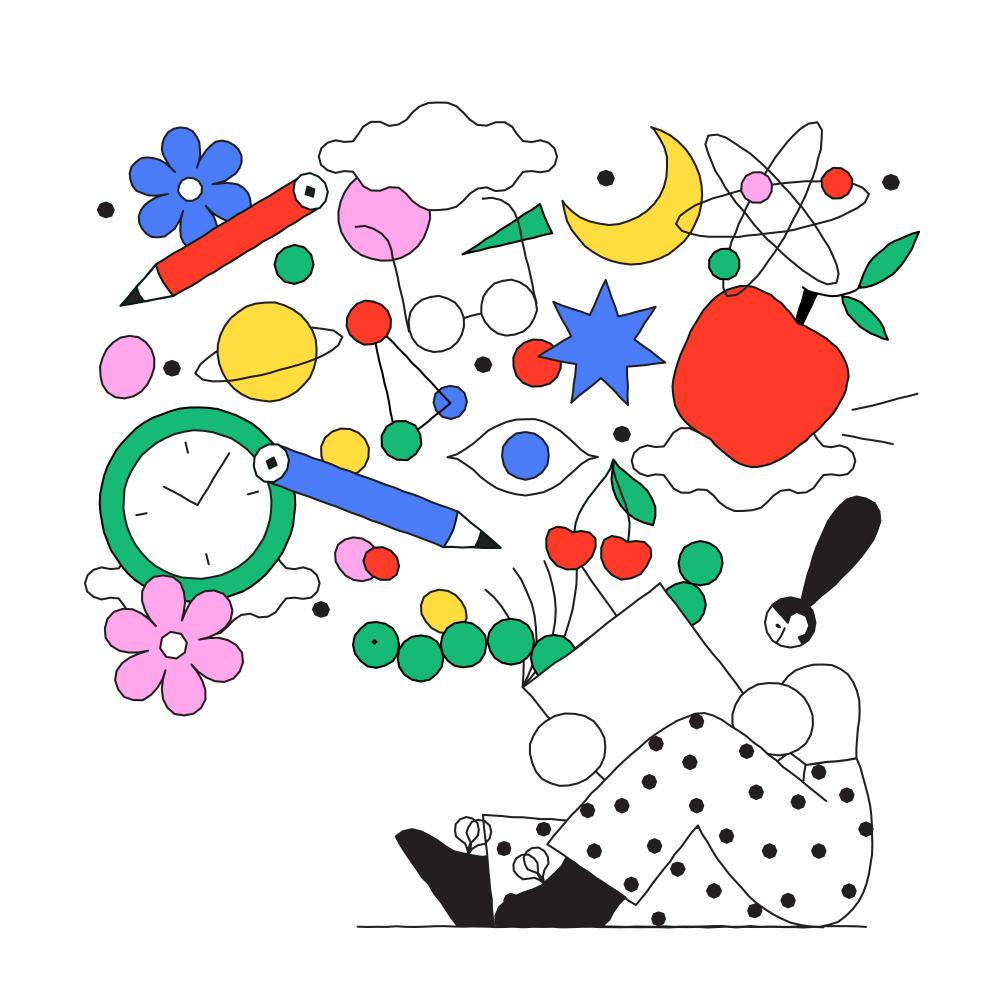 Tylko × Justyna StasikA set of illustrations for Tylko in