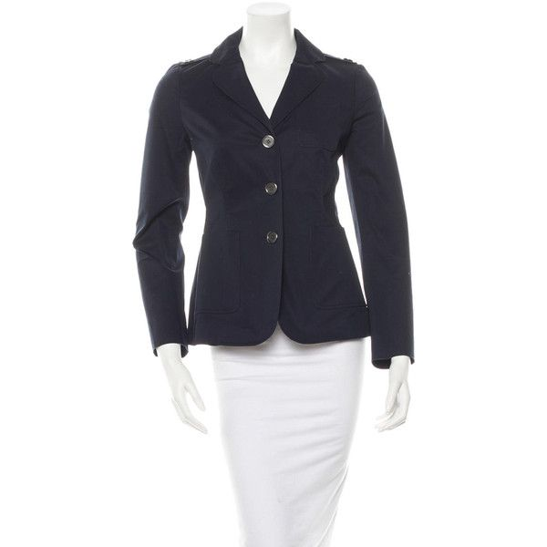 Pre-owned Burberry Blazer ($145) ❤ liked on Polyvore