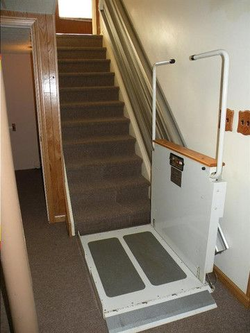 Did You Know Itu0027s Possible To Get A Wheelchair Up And Down A Flight Of  Stairs? It Wonu0027t Win Any Beauty Prizes, But This Gets The Job Done, ...